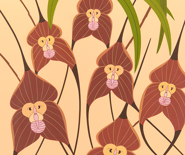 fantastic flowers monkeys