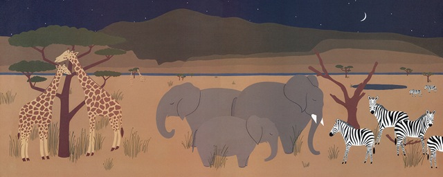 some sleep standing up elephants
